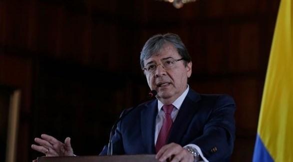 وزير الخارجية الكولومبي كارلوس هولمز تروخيو (أرشيف)