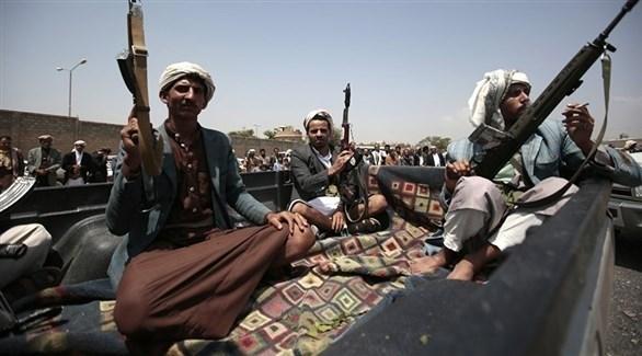 سلحون من ميليشيا الحوثي الانقلابية (أرشيف)