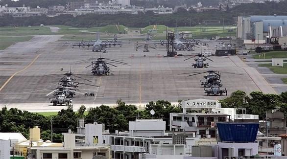القاعدة الأمريكية في أوكيناوا الياباينة (أرشيف)