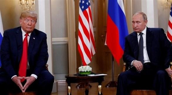 الرئيس الروسي ونظيره الأمريكي(أرشيف)
