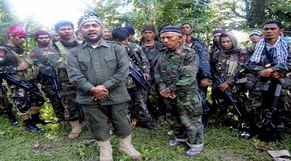 مسلحون من جماعة أبو سياف في الفلبين (أرشيف)
