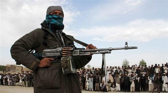 مسلح من جماعة طالبان الإرهابية (أرشيف)