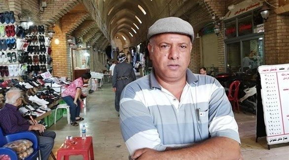 الأديب العراقي علاء مشذوب (فيس بوك)