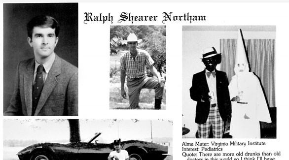 الصورة على اليمين التي يُتهم الحاكم بأنه ظهر فيها(تويتر)