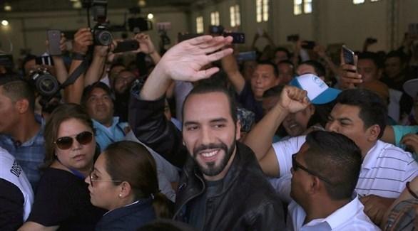 ناييب بوكيلي رئيس بلدية العاصمة السابق في السلفادور(أرشيف)