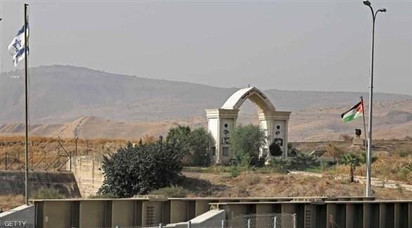 حدود الأردن مع إسرائيل(أرشيف)