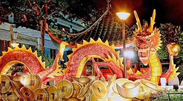 احتفالات صينية(أرشيف)
