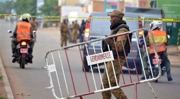 حاجز لقوات الأمن في بركينافاسو (أرشيف)