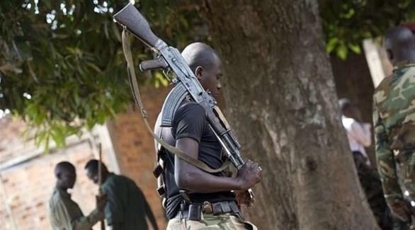 أحد عناصر الفصائل المسلحة في إفريقيا الوسطى (أرشيف)