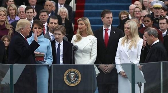 مراسم تنصيب ترامب رئيساً للولايات المتحدة(أرشيف)