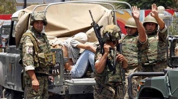 الجيش اللبناني في عملية أمنية بالجنوب (أرشيف)