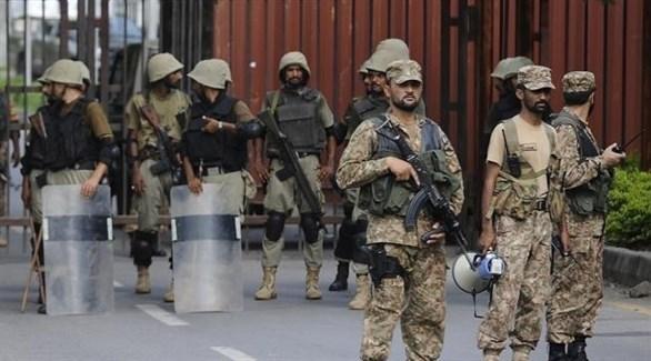 عناصر من الجيش الباكستاني (أرشيف)