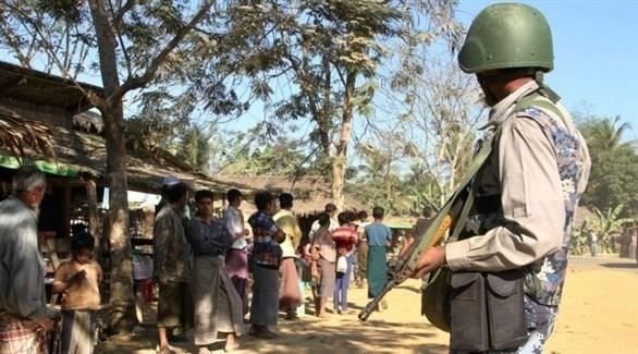 قوات الأمن البنغلاديشية بالقرب من الحدود مع لاجئي ميانمار (أرشيف)