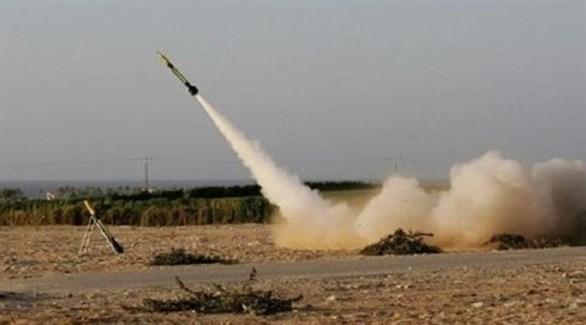 إطلاق صاروخ فلسطيني صوب إسرائيل (أرشيف)