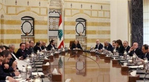 اجتماع الحكومة اللبنانية الجديدة في بعبدا يوم 2 فبراير 2019(رويترز)