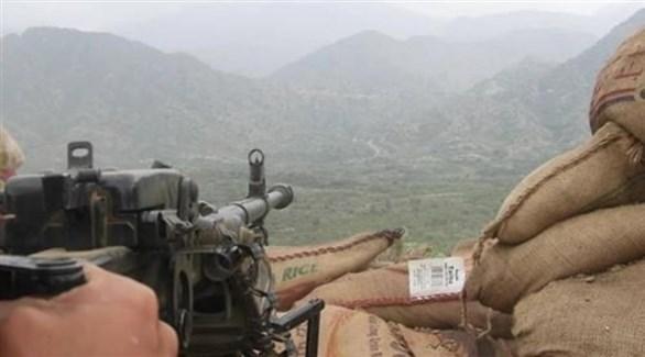نقطة مراقبة تابعة للجيش اليمني (أرشيف)