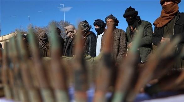 عناصر من طالبان في أفغانستان (اي بي ايه)