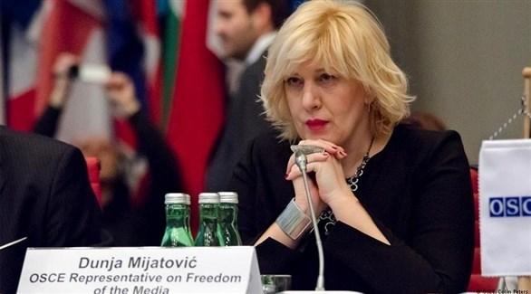 مفوضة حقوق الإنسان في مجلس أوروبا، دونيا مياتوفيتش (أرشيف)