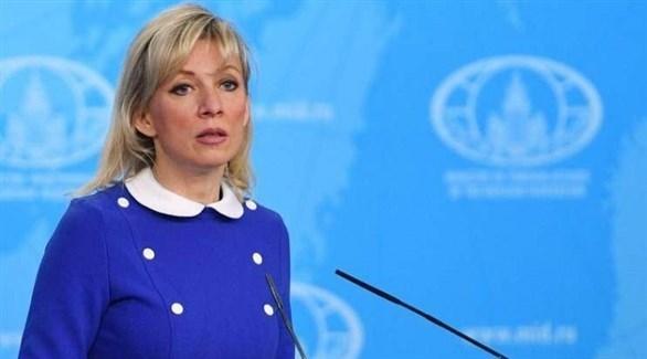 المتحدثة الرسمية باسم الخارجية الروسية، ماريا زاخاروفا (أرشيف)