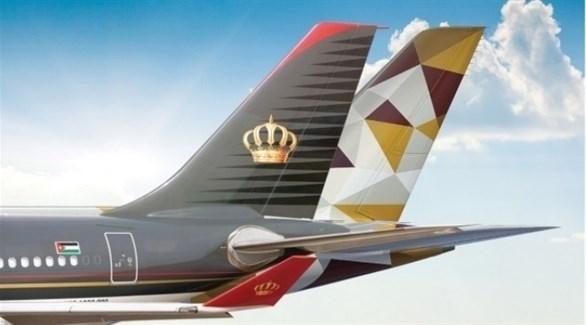 شراكة جديدة بين الاتحاد للطيران والملكية الأردنية (أرشيف)