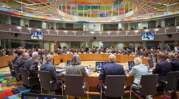 جانب من أحد اجتماعات الاتحاد الأوروبي في بروكسل (أرشيف)