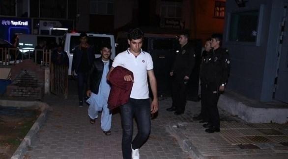 مهاجرون اعتقلهم الأمن التركي (أرشيف)
