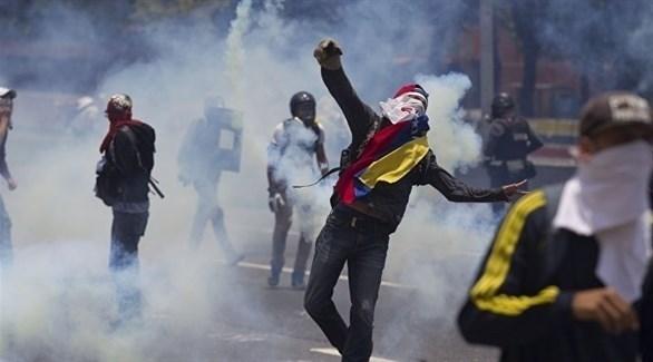 احتجاجات في شوارع فنزويلا (أرشيف)