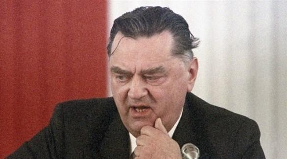 رئيس وزراء بولندا الأسبق، جان اولسزفسكي(أرشيف)