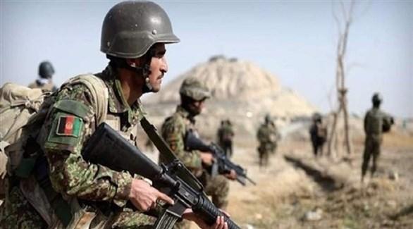 عناصر من القوات الأفغانية (أرشيف)