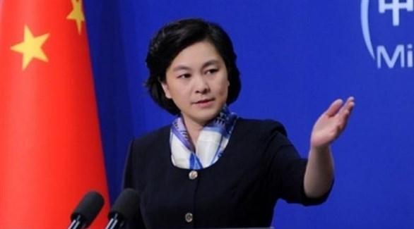 المتحدثة باسم وزارة الخارجية الصينية هوا تشون ينغ (أرشيف)