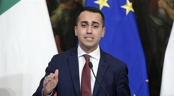 نائب رئيس وزراء إيطاليا لويغي دي مايو (أرشيف)