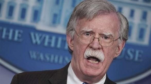 المستشار الأمريكي لشؤون الأمن القومي، جون بولتون (أرشيف)