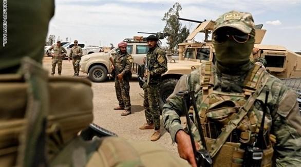 قوة عسكرية من قسد في شرق سوريا (أرشيف)