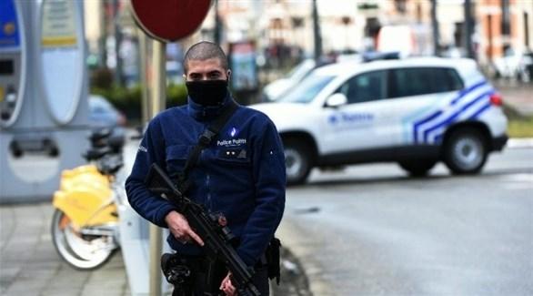 عنصر من الشرطة البلجيكية (أرشيف)