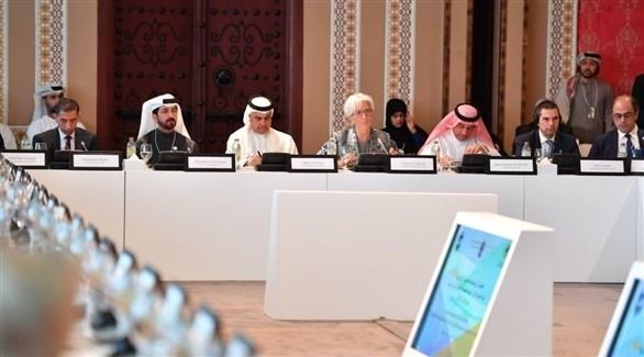 جلسة حوارية للمنتدى الرابع للمالية العامة في الدول العربية (تويتر)