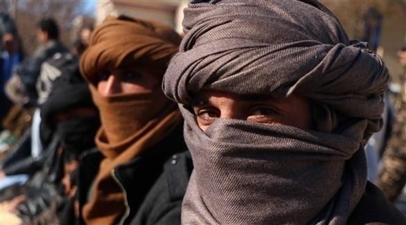 مقاتلون من تنظيم طالبان في أفغانستان (أرشيف)