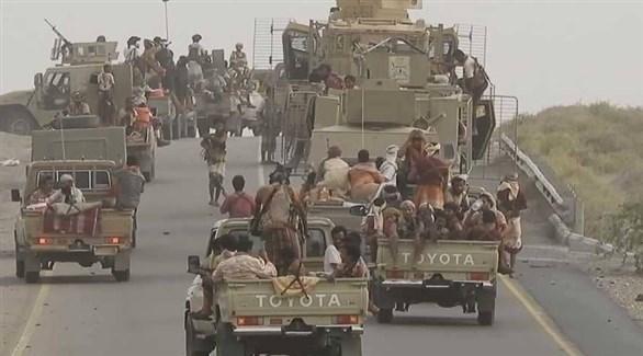 قافلة للجيش اليمني (أرشيف)