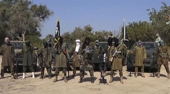 مسلحون من بوكو حرام الانفصالية الإرهابية في نيجيريا (أرشيف)
