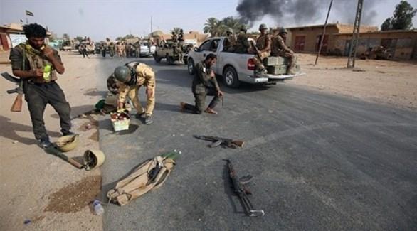 عناصر من الحشد الشعبي في العراق (أرشيف)