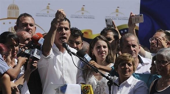 زعيم المعارضة ورئيس البرلمان الفنزويلي خوان غوايدو (أرشيف)