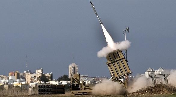 انطلاق صاروخ مضاد للصواريخ من بطارية إسرائيلية (أرشيف)