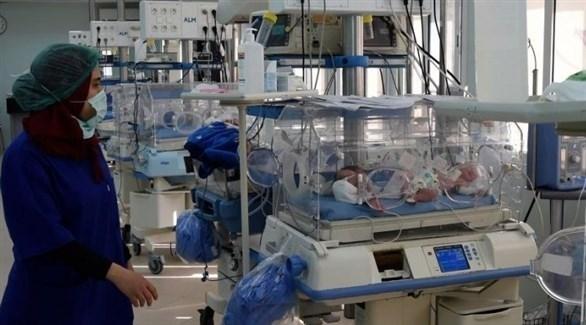 خدج في حاضنات بأحد المستشفيات التونسية (أرشيف)