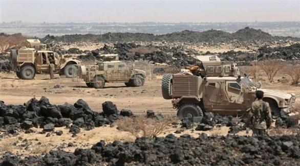 مركبات للجيش اليمني في إحدى العمليات (أرشيف)