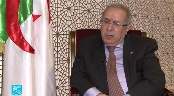 نائب رئيس الوزراء الجزائري رمطان لعمامرة (أرشيف)