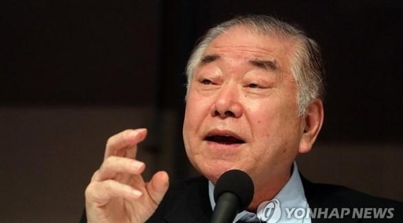 المستشار الخاص لرئيس كوريا الجنوبية، مون تشونغ إن (يونهاب)