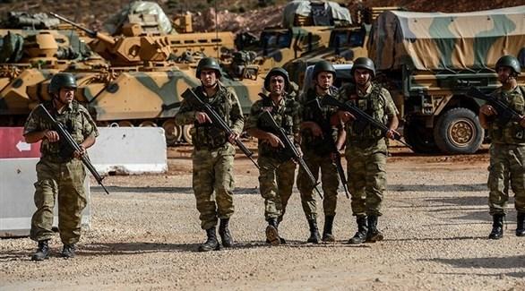 قوات تركية في عفرين السورية (إ ب أ)