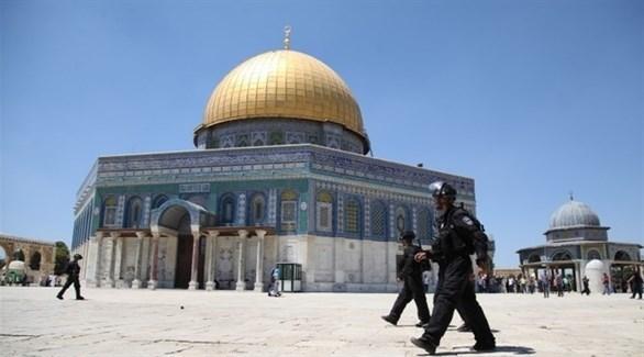 الشرطة الإسرائيلية تقتحم باحات الحرم القدسي (أرشيف)