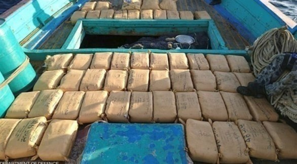 مخدرات في قارب تهريب (أرشيف)