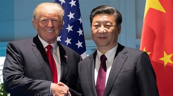 الرئيس الأميركي دونالد ترامب ونظيره الصيني شي جينبينغ(أرشيف)