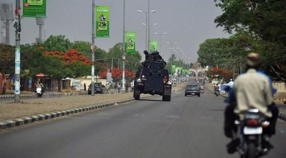 مدرعة للشرطة النيجيرية في أحد شوارع كانو (أرشيف)